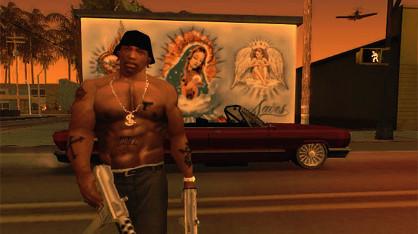 San Andreas z trofeami na PS3