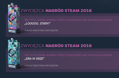 Steam Awards 2016